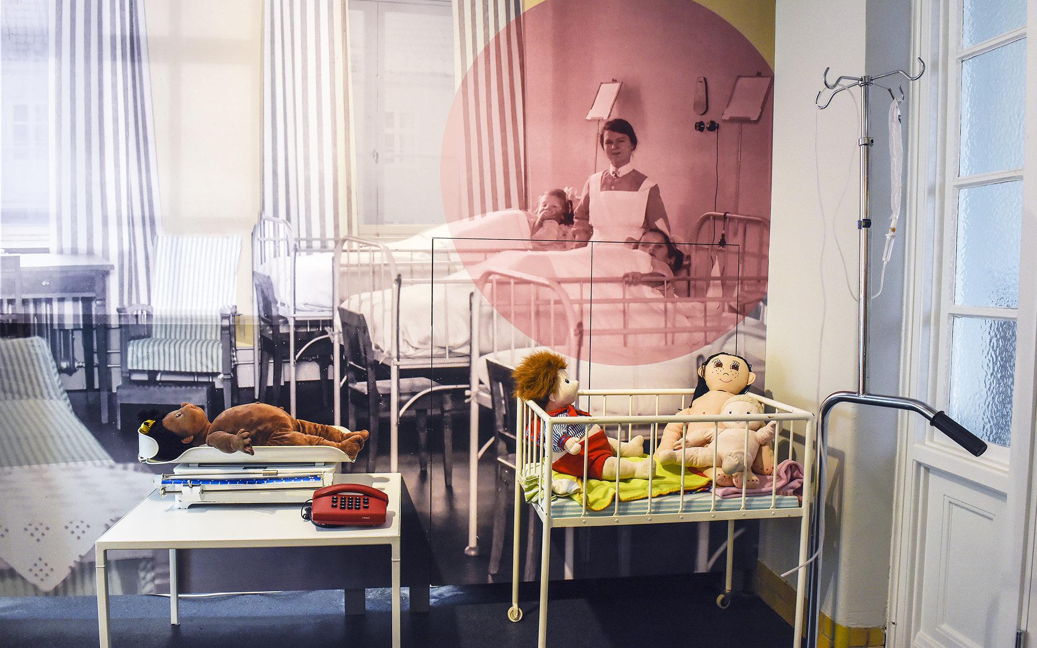 Lekutställningen på Livets museum.